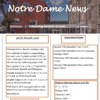 Notre Dame News Issue 9 OUT NOW