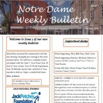 Weekly Bulletin Issue 5 Now Available!